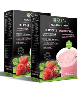 SLC Meal Replacement Strawberry 1+1
